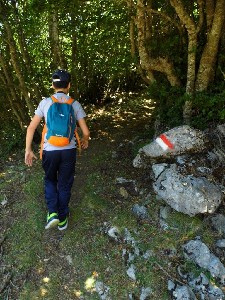 trekking ragazzini