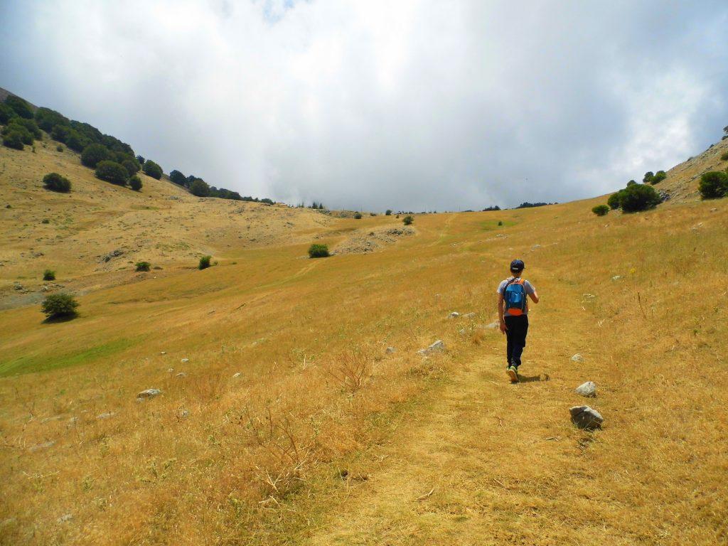 12 anni cima trekking