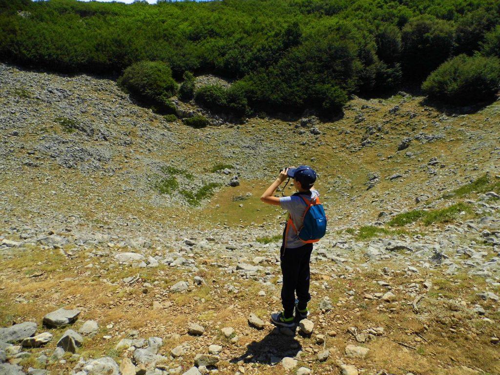 trekking adolescenti