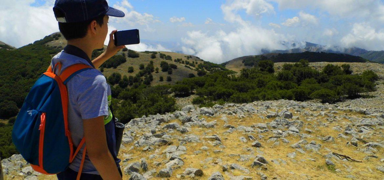 adolescenza trekking